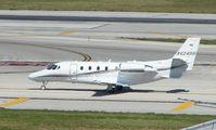 N424HH @ FLL - Citation 560XL at Ft Lauderdale Int