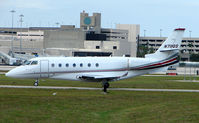 N711QS @ PBI - The business aircraft traffic at West Palm Beach on the Friday before President's Day always provides the aviation enthusiast / photographer with a treat
