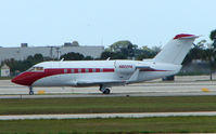 N802PA @ PBI - The business aircraft traffic at West Palm Beach on the Friday before President's Day always provides the aviation enthusiast / photographer with a treat