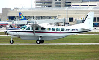 C6-NFS @ PBI - Bahamas registered Cessna Caravan at West Palm Beach - by Terry Fletcher