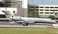 N109ST @ PBI - The business aircraft traffic at West Palm Beach on the Friday before President's Day always provides the aviation enthusiast / photographer with a treat