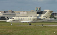 N880ET @ PBI - The business aircraft traffic at West Palm Beach on the Friday before President's Day always provides the aviation enthusiast / photographer with a treat