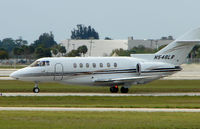 N548LR @ PBI - The business aircraft traffic at West Palm Beach on the Friday before President's Day always provides the aviation enthusiast / photographer with a treat