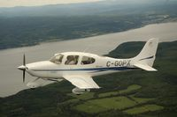 C-GOPX @ CYBG - One of the first Cirrus's imported into Canada - by Mark Brooks part owner / pilot