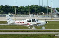 N795AM @ PBI - Cirrus SR22 at West Palm Beach