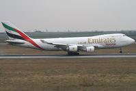 N408MC @ VIE - Emirates Boeing 747-400 - by Thomas Ramgraber-VAP