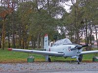 9009 @ RJSO - Fuji T-34A/Ominato,Preserved - by Ian Woodcock