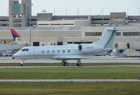 N451CM @ PBI - The business aircraft traffic at West Palm Beach on the Friday before President's Day always provides the aviation enthusiast / photographer with a treat