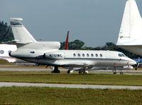 N701WC @ OPF - Falcon 50 at Opa Locka