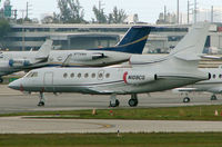 N109CQ @ FLL - Falcon 50 at FLL in Feb 2008 - by Terry Fletcher