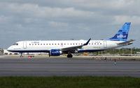 N266JB @ FLL - Jetblue Embraer 190 at FLL