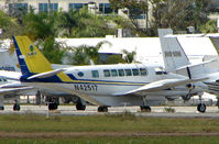 N42517 @ FXE - Pineapple Air's Beech 99 at FXE in Feb 2008