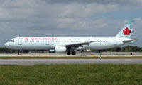 C-GJWD @ FLL - Air Canada A321 taxies  for departure from Ft Lauderdale Int