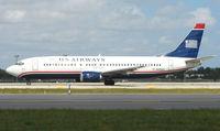 N435US @ FLL - US Airways B737 at FLL in Feb 2008