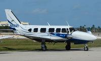 N60AY @ FXE - Piper Pa-31-350 at FXE