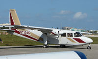 N7136K @ FXE - Britten BN2- Islander at FXE in Feb 2008