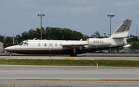 N26TZ @ FLL - Westwind awaiting departure from FLL