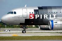 N518NK @ FLL - Spirit A319 ' Spirit of the Dominican Republic '
