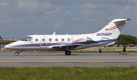 N200GP @ FLL - Colourful Beechjet 400 about to depart FLL