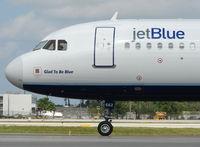 N662JB @ FLL - Jetblue A320 ' Glad to be Blue '