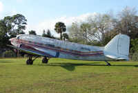 N600NA @ EVB - DC3  at New Smyrna Beach in Feb 2008