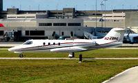 N244RG @ PBI - Learjet 35 taxies to depart West Palm Beach