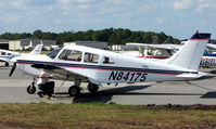 N84175 @ DED - Pa-28-161 at Deland , Florida