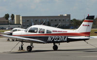 N703RA @ DED - Piper PA-28-161 of the Flying Academy at Deland , Florida