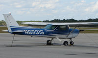 N6931G @ DED - Cessna 150L at Deland , Florida