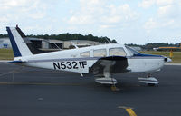 N5321F @ DED - Piper Pa28-151 at Deland , Florida
