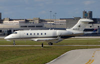 N620JF @ PBI - Challenger 300 taxies out at West Palm Beach