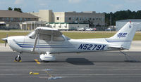 N5279X @ DED - Cessna 172S at Deland , Florida