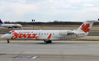 C-GJZN @ PHL - Canada Jazz CRJ at Philadelphia - by Terry Fletcher
