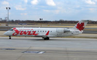 C-FWRS @ PHL - Air Canada Jazz CLRJ at Philadelphia - by Terry Fletcher