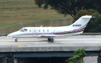 N140QS @ TPA - Beechjet 400 taxies in at Tampa - by Terry Fletcher