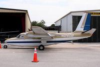N1260B @ KLNA - Smart looking Aero Commander at Lantana, FL - by Steve Hambleton