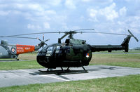 B-70 @ EBLG - These small helicopters have now been withdrawn. - by Joop de Groot