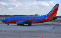 N499WN @ PHL - Southwest B737 arrives at Philadelphia