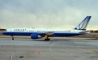 N509UA @ PHL - United 757 makes a second attempt to depart Philadelphia
