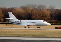 N176CG @ PHL - Falcon 2000EX at Philadelphia