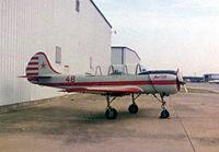 UNKNOWN @ FTW - Yak 52 at Meacham Field