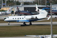 N102CX @ DAB - Gulfstream II belonging to Clorox - by Florida Metal