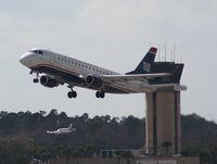N113HQ @ DAB - US Airways EMB-175