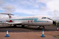 552 @ EGVA - Oman Government BAC 111 at Royal International Air Tattoo - by Steve Hambleton