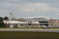 N480JJ @ DAB - Jimmie Johnson's new G150 replaces the Lear 31