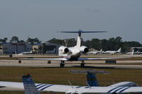 N500RP @ DAB - Penske Racing's new G450 - replaces Lear 60 that wore same number