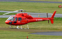 G-OHMS @ EGBJ - A visitor to Gloucestershire Airport on the day of the horse racing Gold Cup  at the nearby Cheltenham Racecourse
