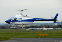 G-BLGV @ EGBJ - A visitor to Gloucestershire Airport on the day of the horse racing Gold Cup  at the nearby Cheltenham Racecourse