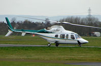 EI-WAV @ EGBJ - A visitor to Gloucestershire Airport on the day of the horse racing Gold Cup  at the nearby Cheltenham Racecourse