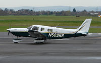 N562RR @ EGBJ - A visitor to Gloucestershire Airport on the day of the horse racing Gold Cup  at the nearby Cheltenham Racecourse